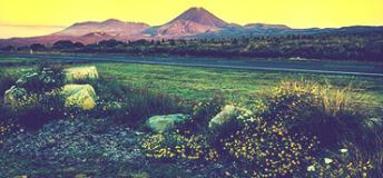 Mount Tongariro, New Zealanda