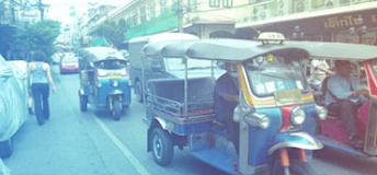 Traffic in Chiang Mai