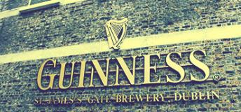 Guinness Storehouse in Dublin, Ireland