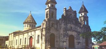 Church of Guadalupe in Granada, Nicaragua
