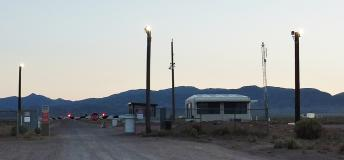 Area 51 at sunset