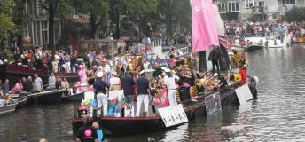 Gay Parade in Amsterdam