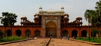 Tomb of Akbar the Great in India