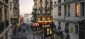 Montmartre, Paris metro stop