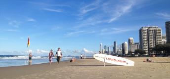 A beautiful beach in Queensland.