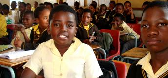 Students in South Africa