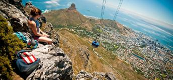 Cable car in South Africa