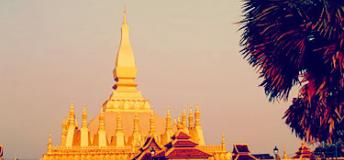 Golden Pagoda, Laos