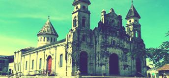 Church in Leon, Nicaragua