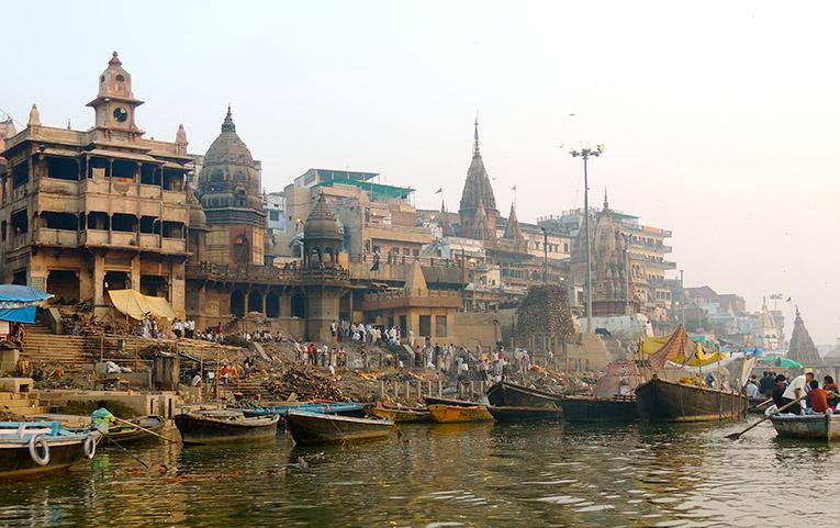 Varanasi at Dawn, India